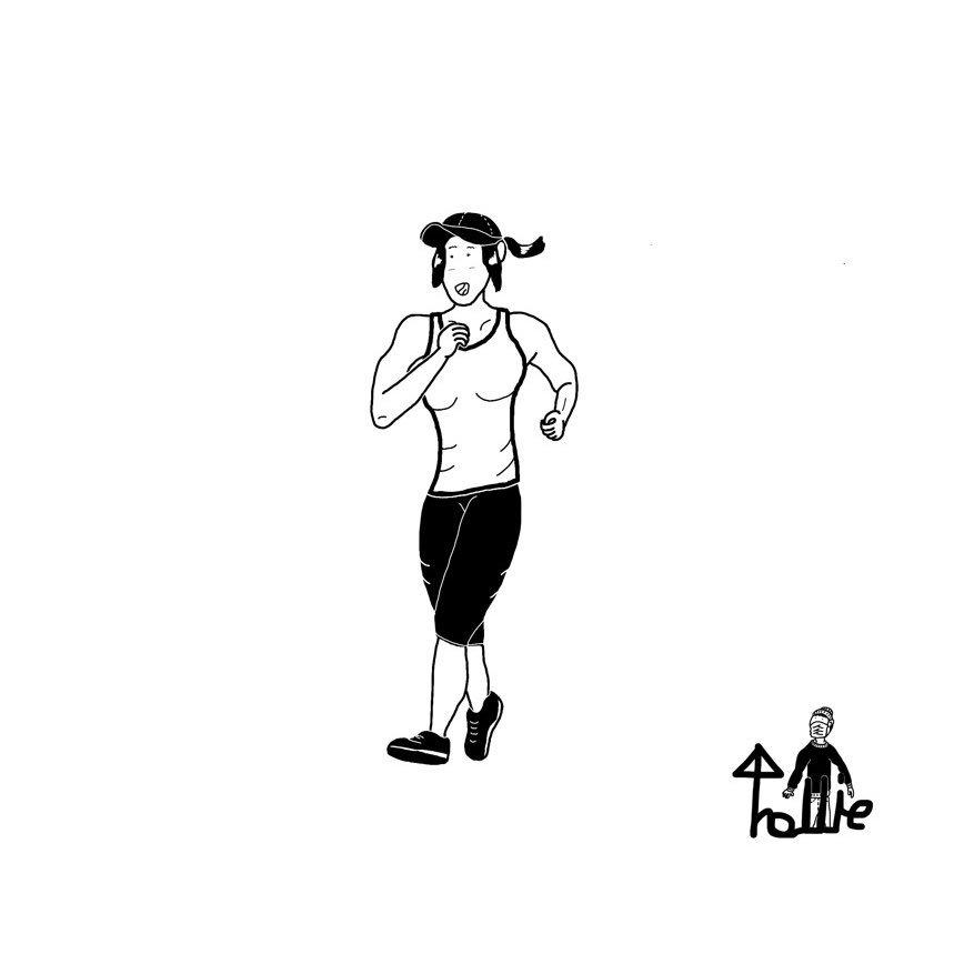 走る人 サブカル サブカルクソ女 サブカル女子 絵描きさんと繋がり