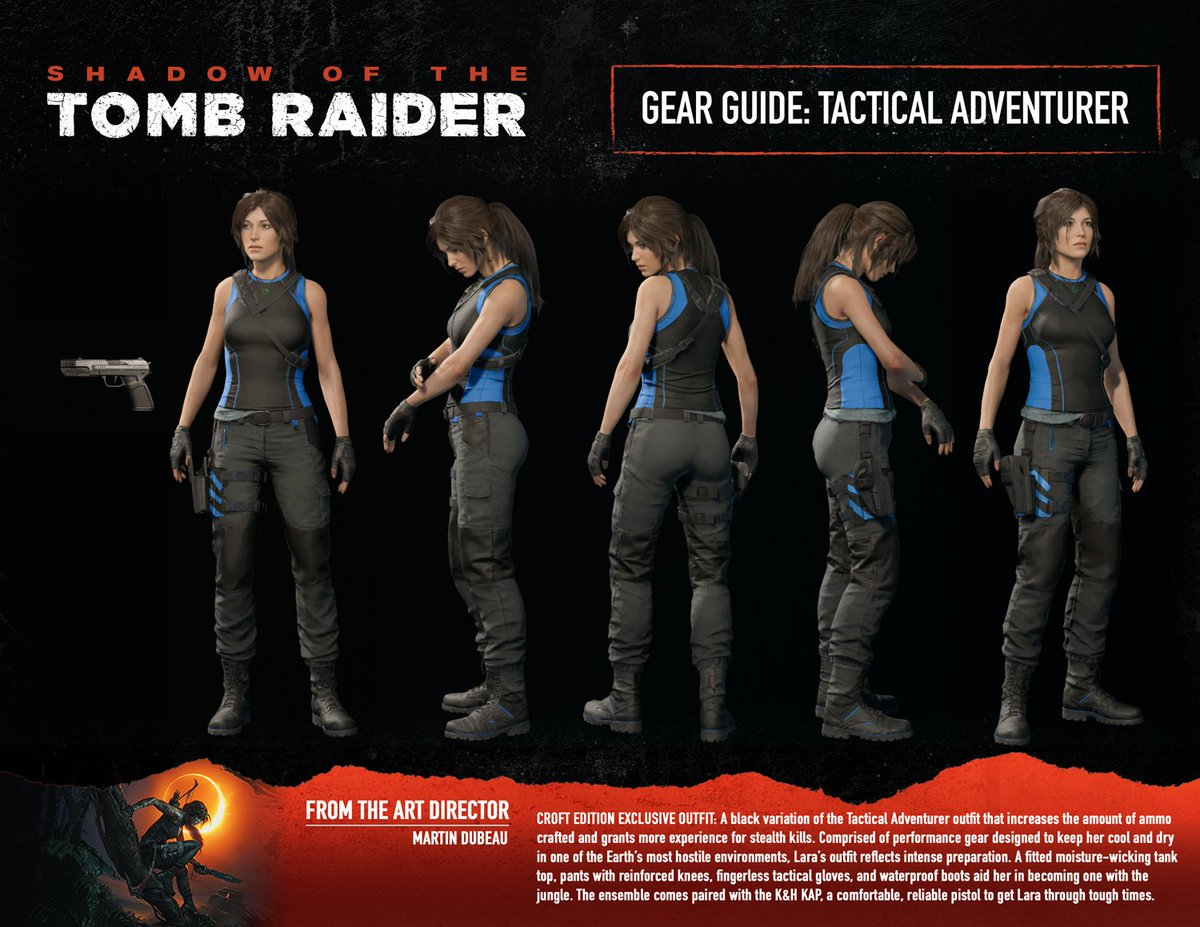 Tomb Raider On Twitter If You Ve Pre Ordered The Croft Edition