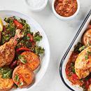 Spicy Peri Peri-Roasted Chicken with Sweet Potatoes & Kale https://t.co/lIgLnuJQea https://t.co/B7TekuLNP4