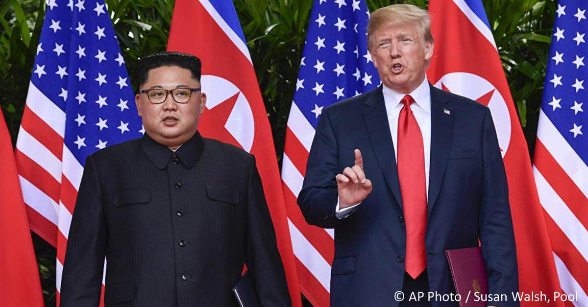 #Trump aurait failli déclencher une guerre contre la Corée du Nord, d'après le Daily Express https://t.co/RZVJPyFcrF