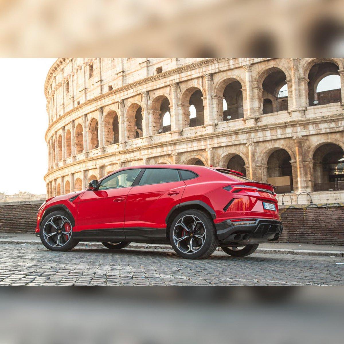 The Phone Talks On Twitter First Lamborghini Urus Suv Arrives In