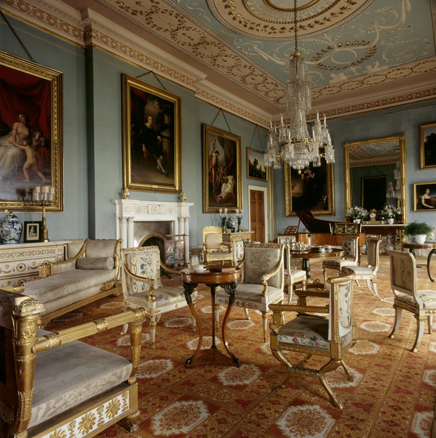 Book Now: U0027Italian Royal Furniture At Attingham Parku0027 On 2 October, 1 2pm.  A Free Fellows Lunch By Wolf Burchard, Furniture Research Curator At The ...