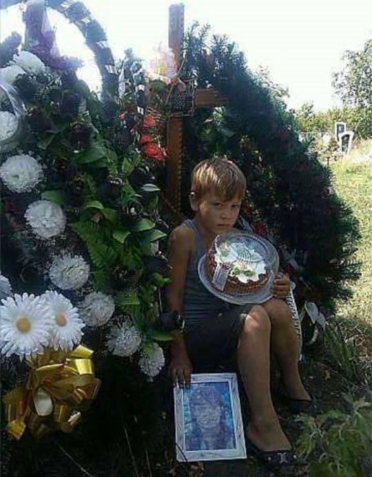 Донбасс. День рождения мамы Одна из самых страшных фотографий, что я видел с этой войны
