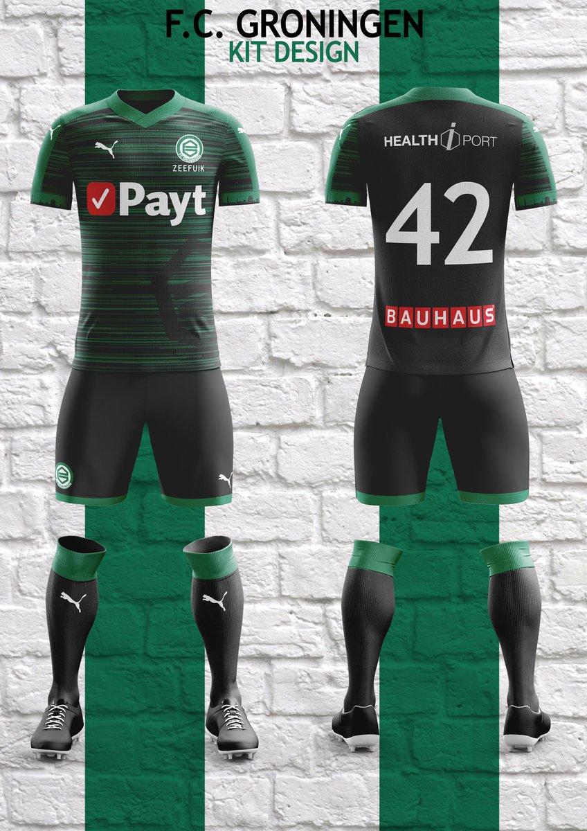 Christian On Twitter Fc Groningen Kit Design Fcgroningen Puma Football Kits Kitdesign Kitcreation Conceptart