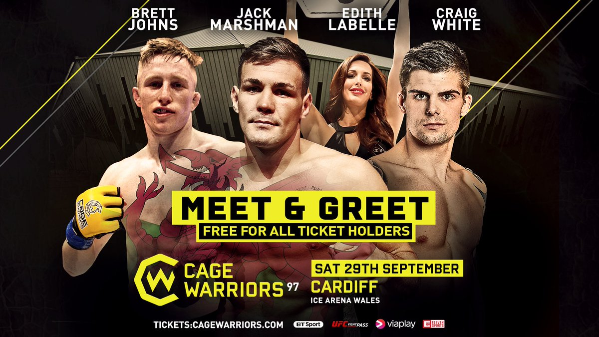 Cage Warriors On Twitter Cw97 Meet And Greet Welsh Ufc Stars