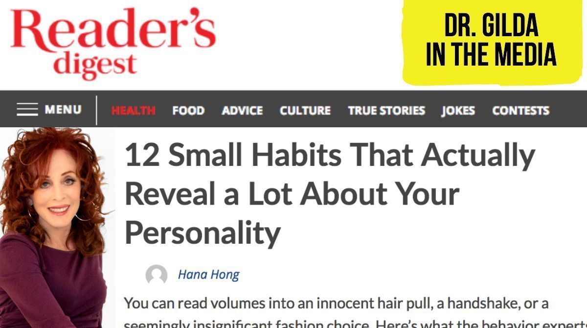 10 habits that tell about your personality