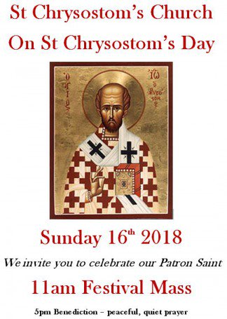 St Chrysostoms, UK