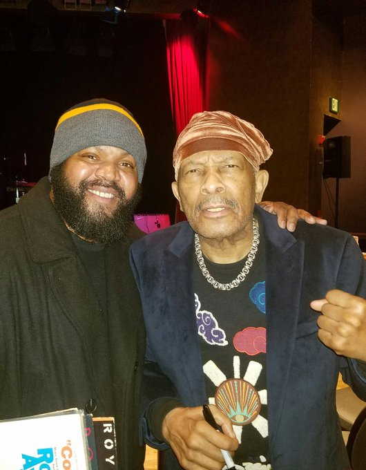 """Happy Birthday to the incomparable Roy Ayers! We can\t get enough of the \""""sunshine\"""""""