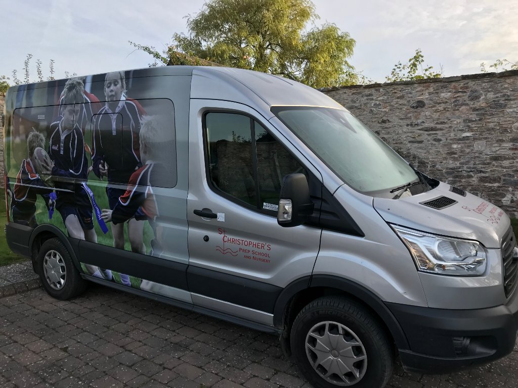 St. Christopher's runs three minibus services, see link below for more details. https://www.st-christophers.devon.sch.uk/2018/09/10/school-minibus/ ...