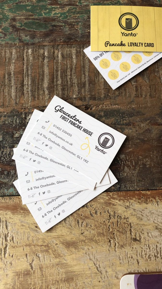 Gl card glcardglos twitter business cards loyalty cards feast your eyes and head down for a mouth watering selection of pancakes wdyt glos gloucester reheart Choice Image