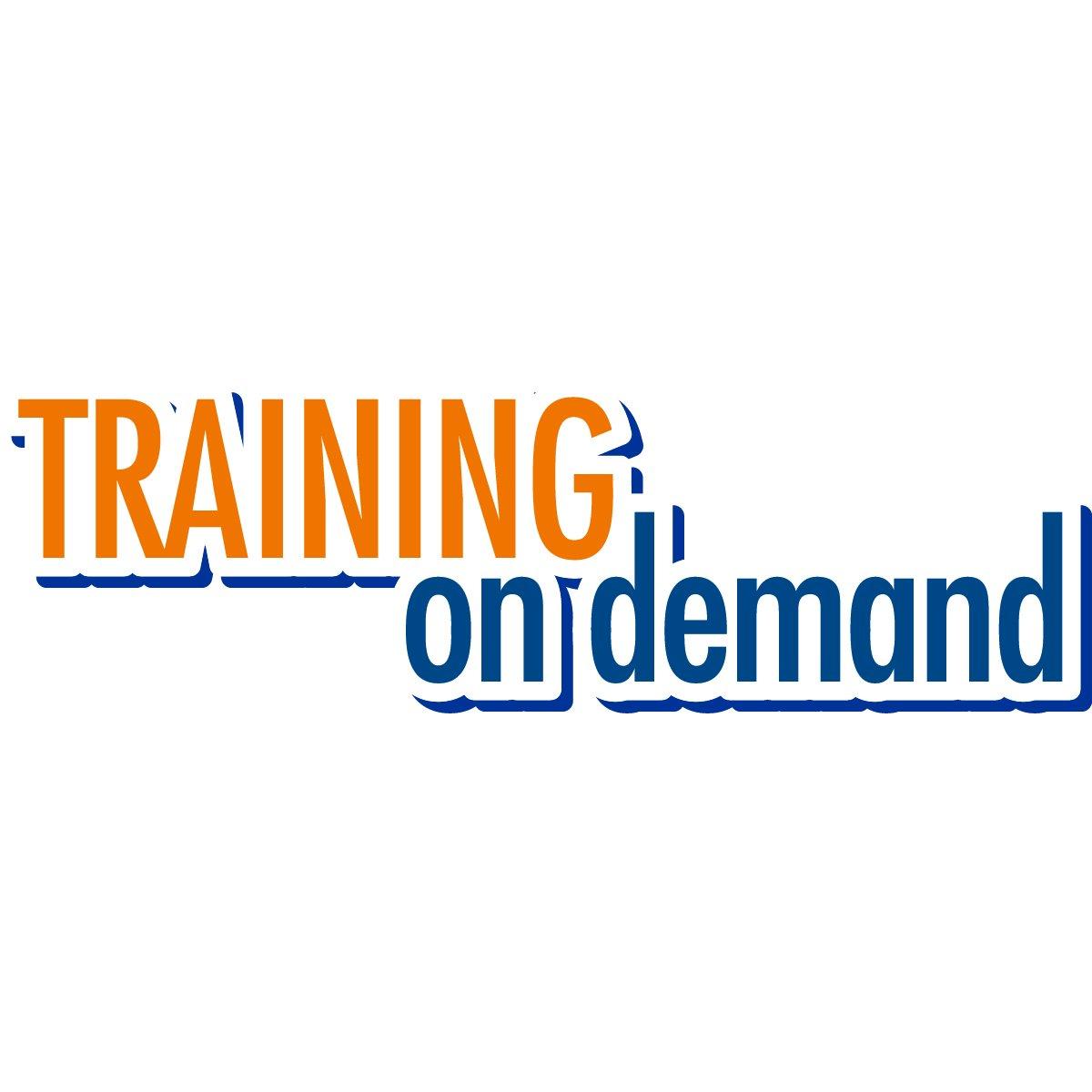trainingondemand hashtag on Twitter