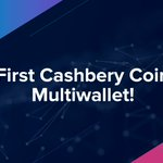 Image for the Tweet beginning: Cashbery Coin now in Multiwallets!