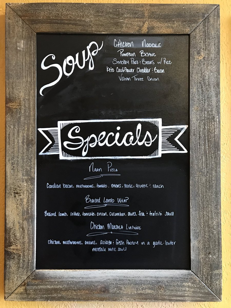 Soups and specials for Monday #MondayMotivation #lunch #soup #lovelansing https://t.co/lsXp5I7mTr