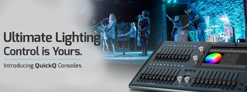 Join us at this year's PLASA London show for a 1-hour practical training session on the New QuickQ consoles from @ChamSysLtd. For more information or to get your free ticket click here: bit.ly/QuickQPLASA