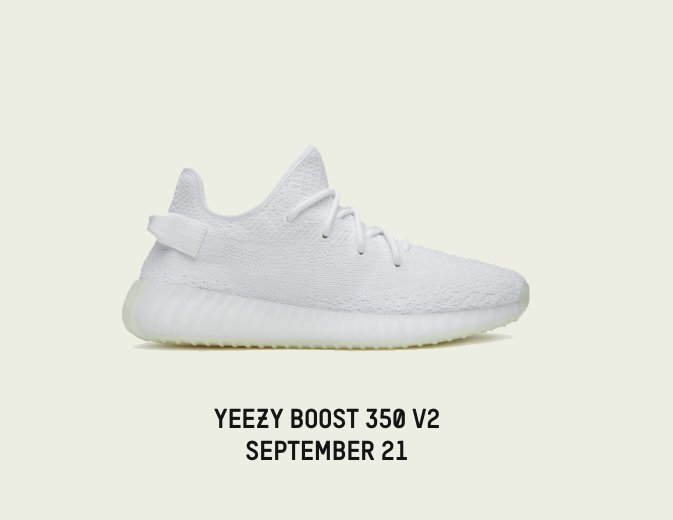 YEEZY BOOST 350 V2 CREAM WHITE https