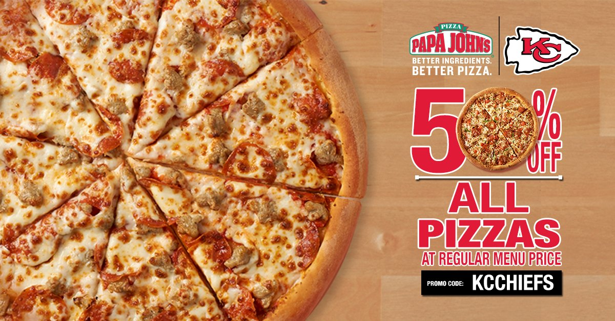 Papa Johns Of Stl On Twitter When The At Chiefs Win You