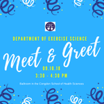 HAPPENING TODAY: Department of Exercise Science Meet & Greet. Come out and meet the Exercise Science faculty and other students in your major. Congdon School of Health Sciences Ballroom, 3:30 - 4:30pm #HPU365 #MyMajoratHPU