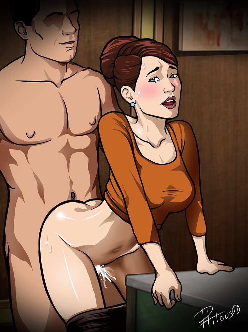 Archer nude fakes, when a female fucks with someone real quotes