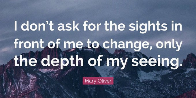 """Happy Birthday to \""""Mary Oliver\"""", Pulitzer Prize-winning poet, born this day in 1935."""
