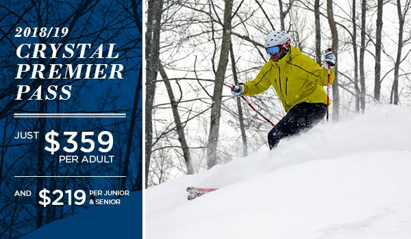 Crystal Mountain - 2018 - 19 Season Passes