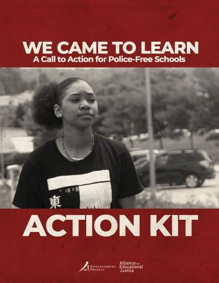 Image result for We Came to Learn: A Call to Action for Police-Free Schools