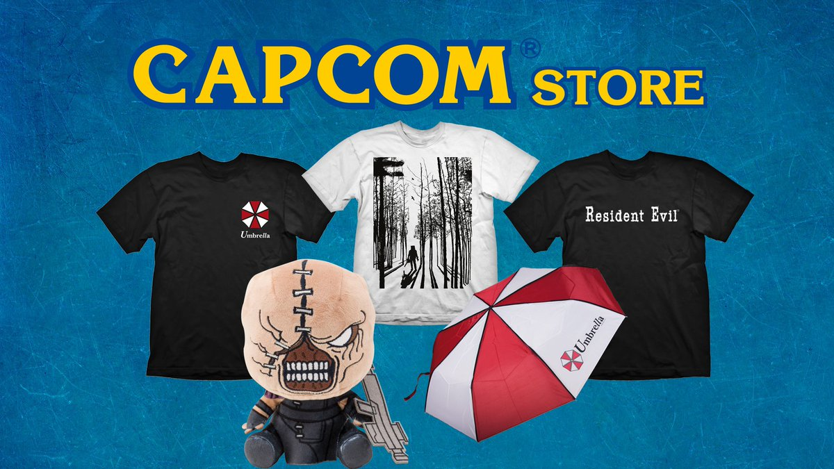 If youre itching for new Resident Evil goodies, youre in luck! We just launched our brand new E-Capcom store! Check it out over at bit.ly/2oSLIUN