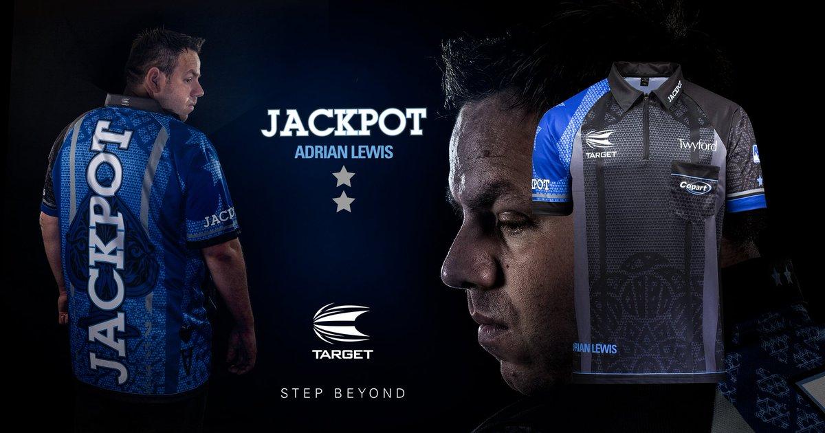 Introducing the new Adrian Lewis 2019 coolplay shirt⬇️🔵 @jackpot180 @TargetDarts
