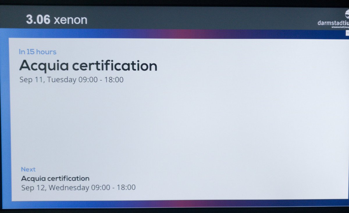 Acquia On Twitter Get Acquia Certified At Drupaleurope This Week