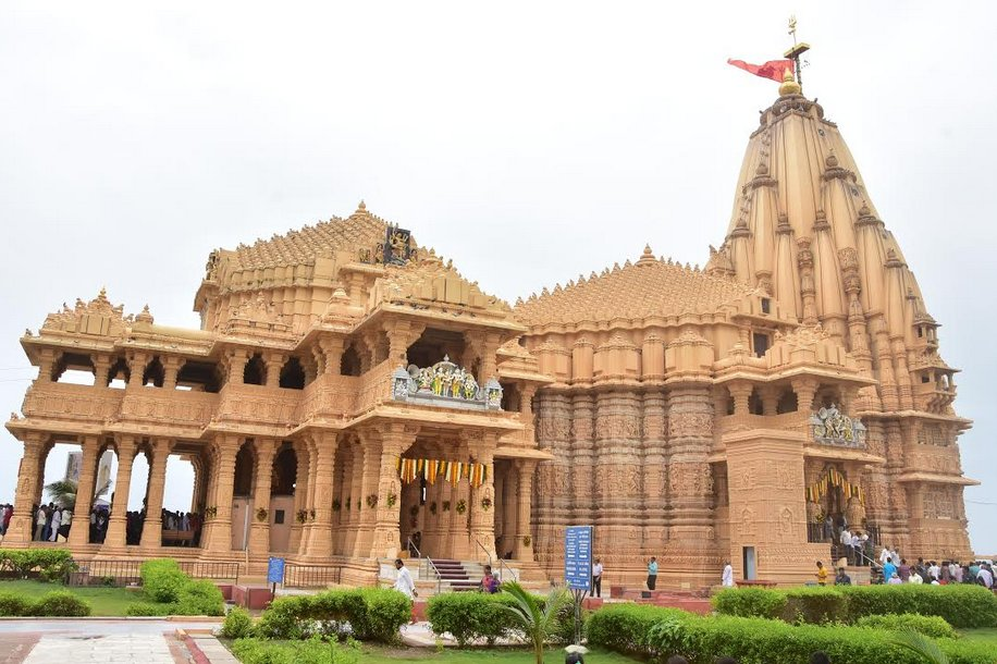 Somnath Trust receives Rs 5.13 crore donation during Shravan, 20 lakh visitors