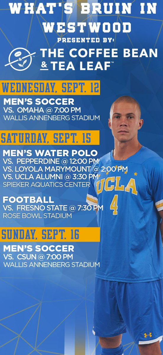 8e25c100a50 UCLA Athletics on Twitter: