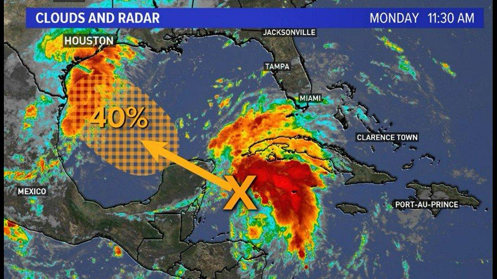 Khou Weather Map.Khou 11 News Houston S Tweet Weather Blog Possible Tropical