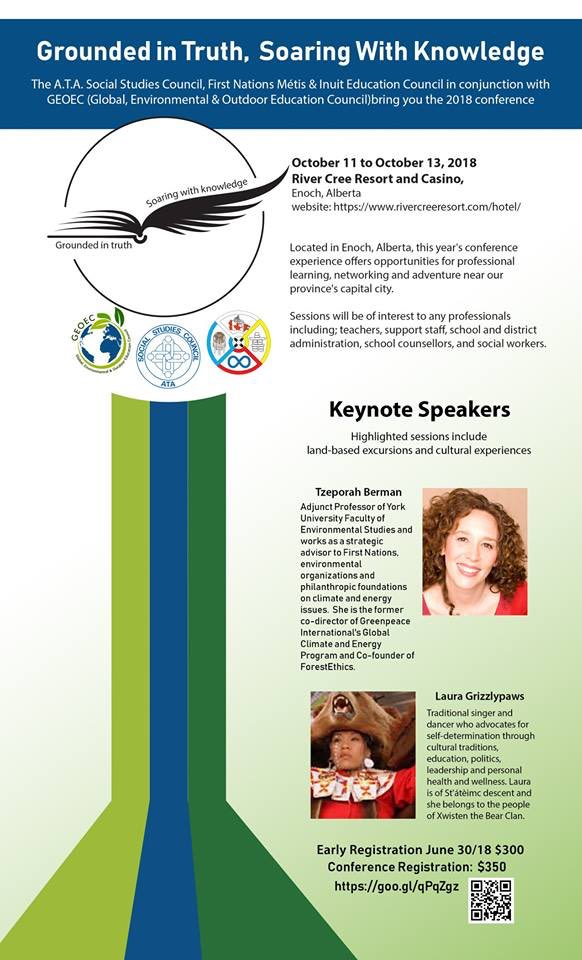 Alberta Teachers Association Event features paid pipeline obstructionist Tzeporah Berman as a keynote speaker.   This person celebrates when our jobs are displaced to other countries with inferior environments standards.   Think about that. #AbLeg #AbPoli  https://fnmiec.atapd.ca/initiative/soaring-with-knowledge-annual-conference-2018 …