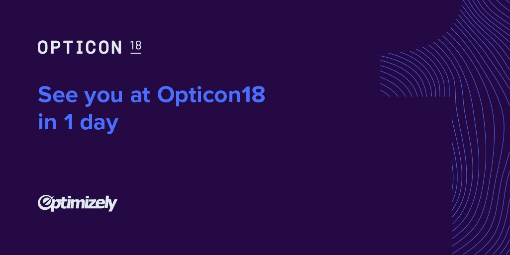 Optimizely On Twitter Were Kicking Off Opticon18 With Training