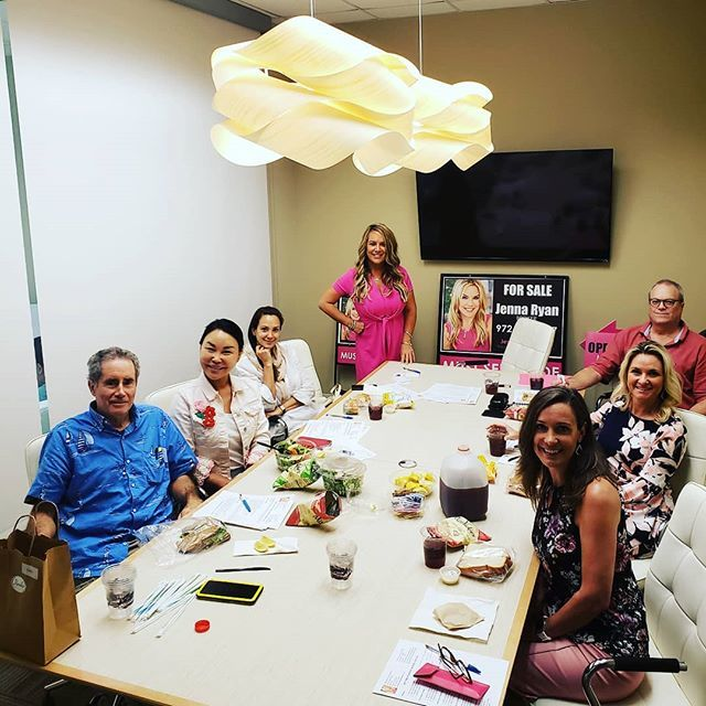 My first real estate class!!! Huge success!!! We have 5 new agents at Jenna Ryan Realty. We already need more office space.
