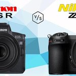 India Launch: #NikonZ full frame mirrorless = 19 Sep #CanonEOSR full frame mirrorless = 21 Sep