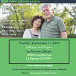 Image for the Tweet beginning: Join us in #LaPuente tomorrow