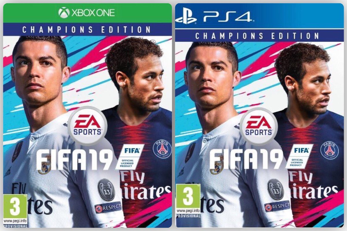 """We're giving away a copy of the brand new FIFA 19 """"Champions Edition"""" on the console of your choice. Simply rt and follow to enter! Winner announced on release day! Good luck!"""