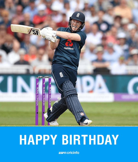 Happy birthday to Eoin Morgan, England\s limited-overs captain!