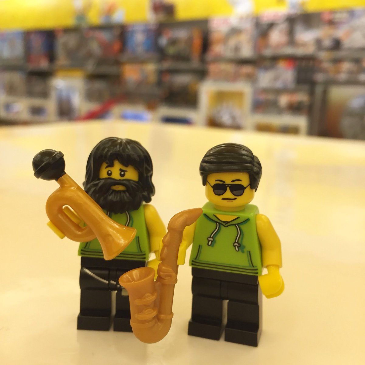 When did LEGO start making The Brecker Brothers? #heavymetalbebop