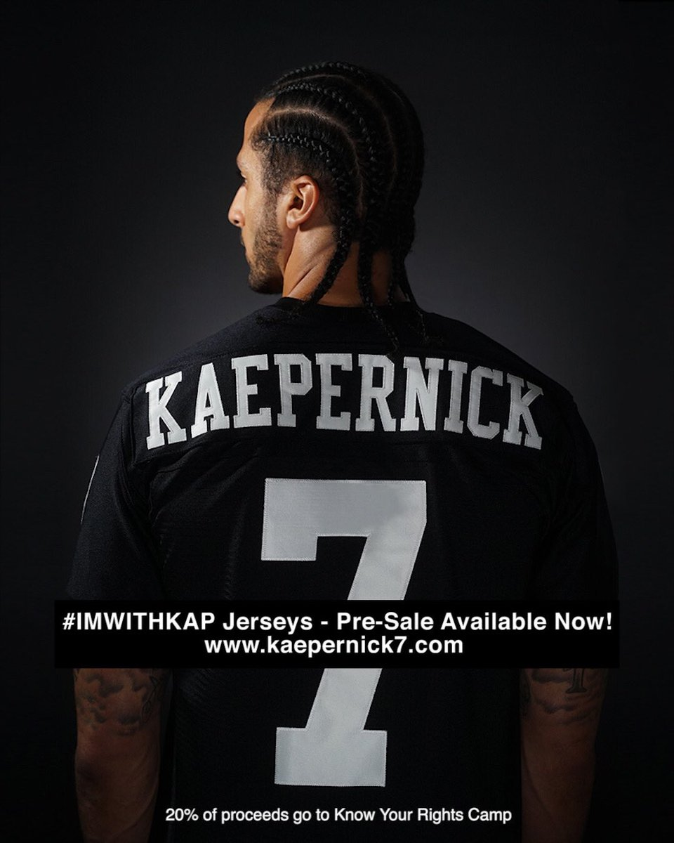 superior quality bc18f 81d92 Colin Kaepernick on Twitter:
