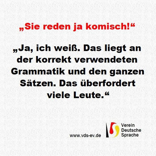 Vds Ev On Twitter Vds Vereindeutschesprache Deutsch