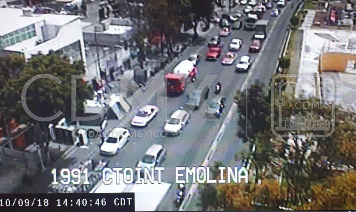 Circuito Y Eduardo Molina : Accidente en circuito interior deja dos jóvenes heridos