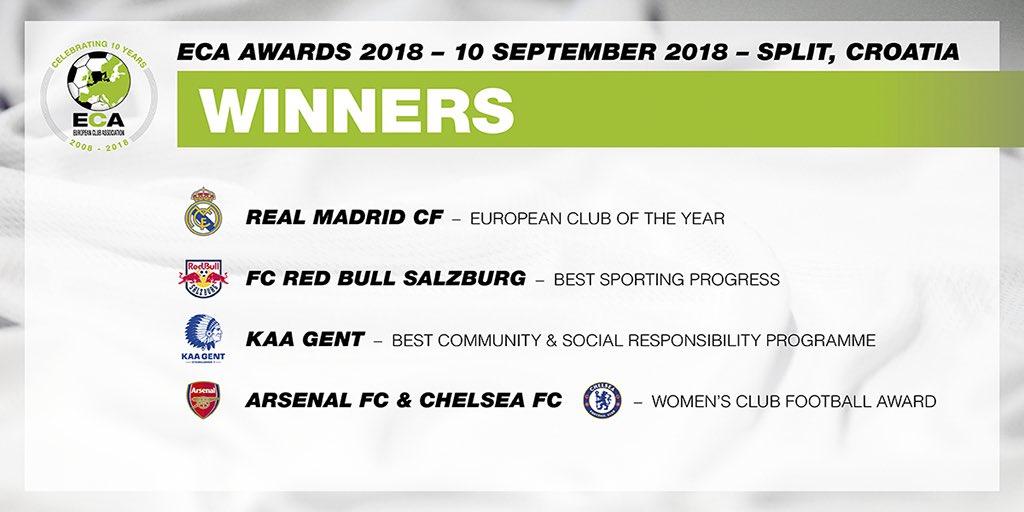 Real ilin ən yaxşı klubu seçildi