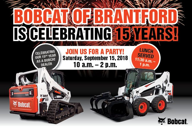 Bobcat Of Brantford >> Bobcat Of Brantford On Twitter Come On Out And Celebrate