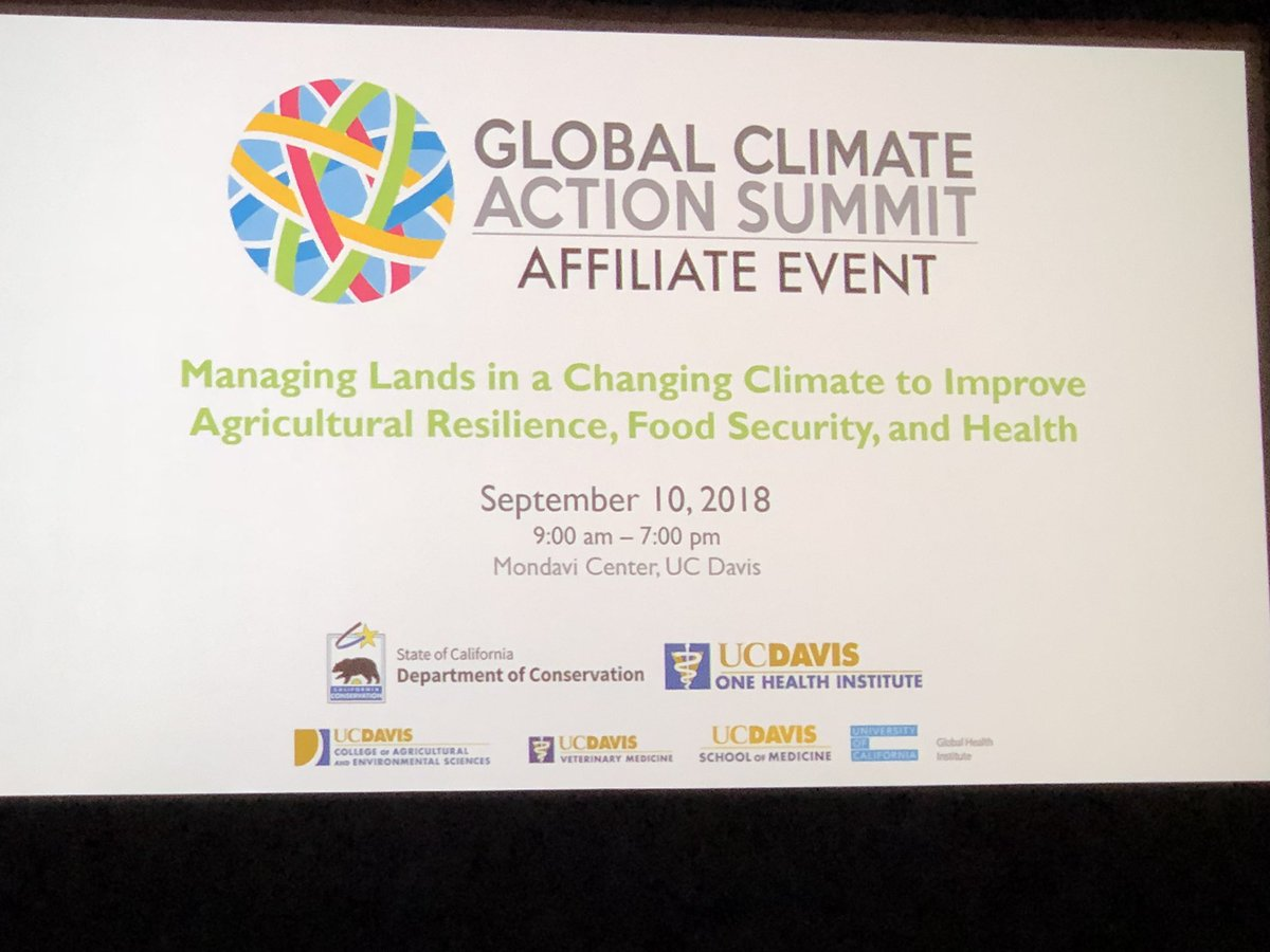 Frank mitloehner on twitter about to present a talk on the 2050 about to present a talk on the 2050 challenge a sustainable solution must include livestock at the global climate action summit at uc davis colourmoves
