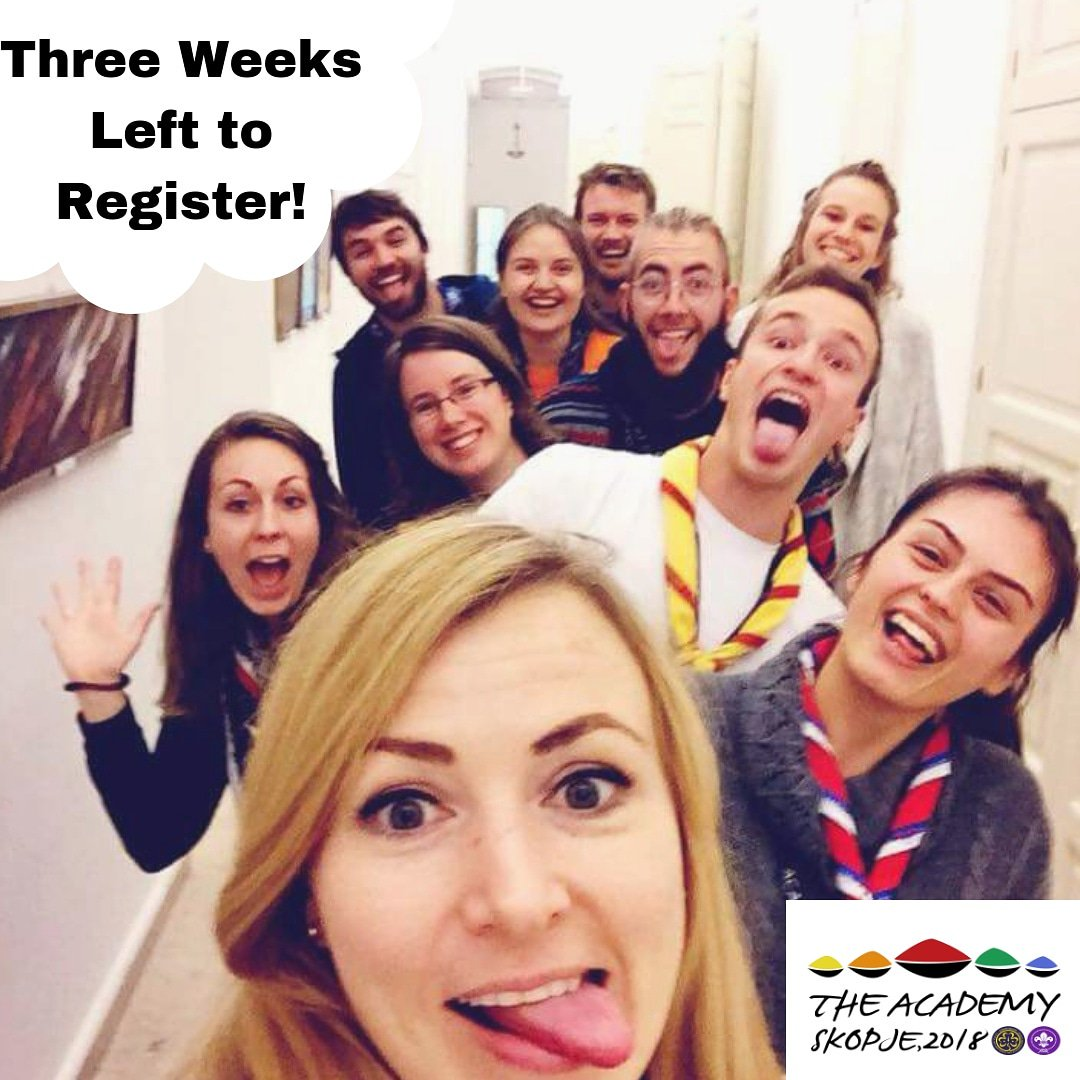 test Twitter Media - Three weeks left to Register!   Register for the Academy 2018 here - https://t.co/HiHbLw9BtA https://t.co/qOVG8xVLoL