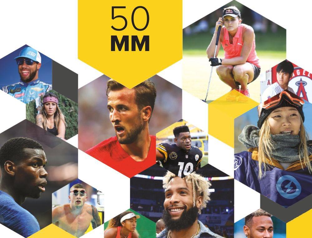Sportpro déclare #Pogba athlète, tous sports confondus, le plus bankable de 2018  http:// www.sportspromedia.com/most-marketable Ça va plutôt bien pour Paul actuellement. En fait partout sauf à #ManchesterUnited  - FestivalFocus