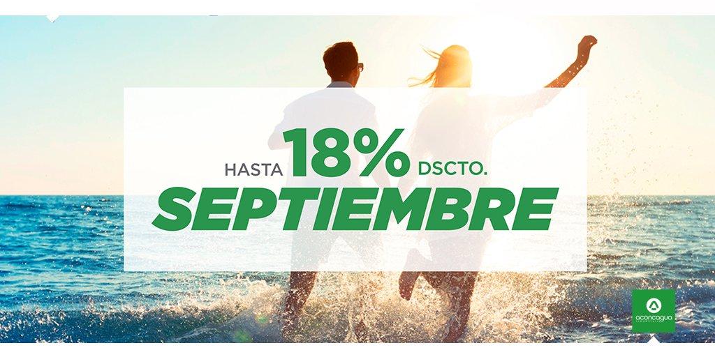 Aprovecha descuentos exclusivos en Septiembre, hasta 18% dstco. Te esperamos en todas nuestras salas de venta de la 4º y 5º Región. Infórmate en https://t.co/YP5teyIv3R https://t.co/xLolEmpnvN