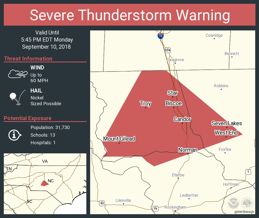 Seven Lakes Nc Map.Nws Raleigh On Twitter Severe Thunderstorm Warning Continues For