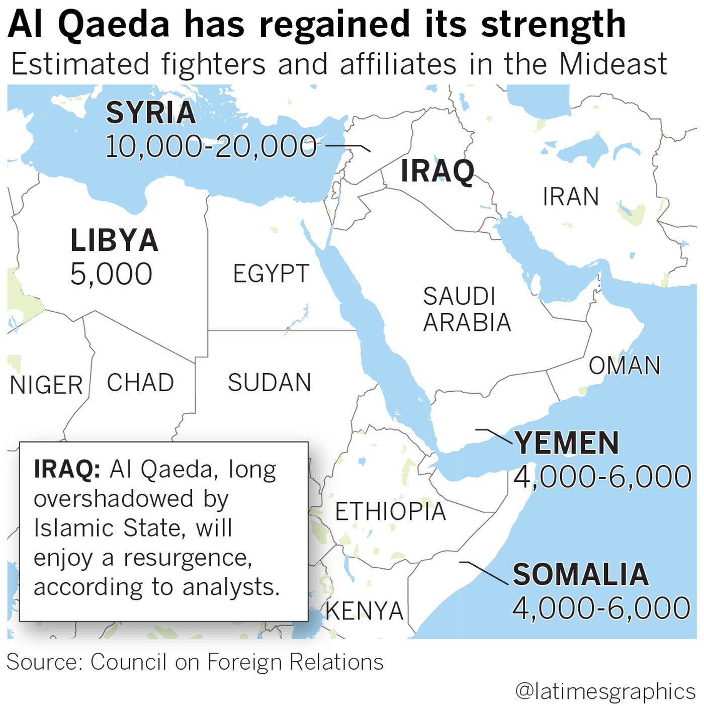 17 years after 9/11, Al Qaeda has amassed the largest fighting force in its existence https://t.co/KXdBKwA8hH https://t.co/5rjVjzWiAa